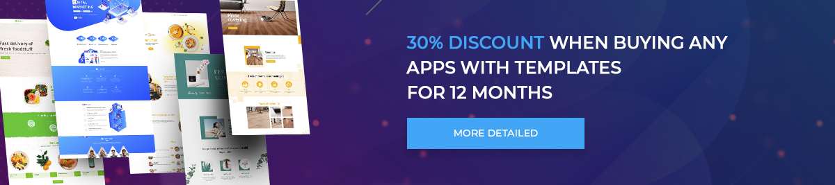 30% discount for 12 months